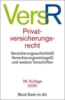 Privatversicherungsrecht, Buch