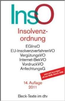 Reinhard Bork: Insolvenzordnung, Buch