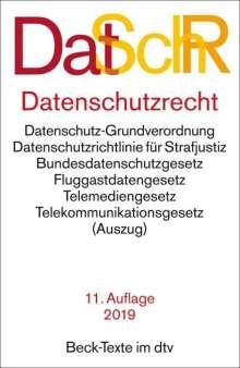 Marcus Helfrich: Datenschutzrecht, Buch