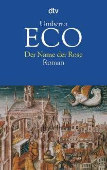 Umberto Eco (1932-2016): Der Name der Rose, Buch