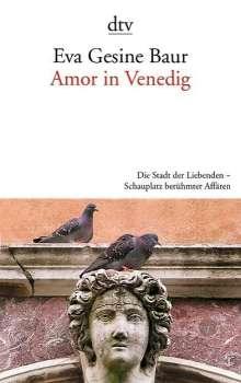 Eva Gesine Baur: Amor in Venedig, Buch