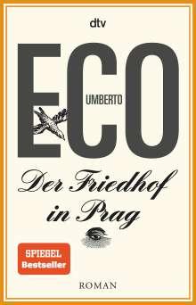 Umberto Eco (1932-2016): Der Friedhof in Prag, Buch