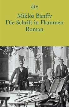 Miklós Bánffy: Die Schrift in Flammen, Buch