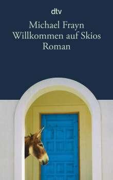 Michael Frayn: Willkommen auf Skios, Buch