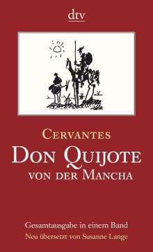 Miguel de Cervantes Saavedra: Don Quijote von der Mancha Teil 1 und 2, Buch