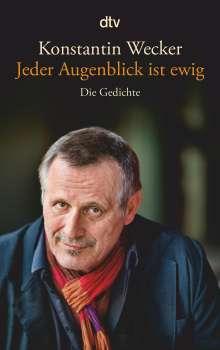 Konstantin Wecker: Jeder Augenblick ist ewig, Buch