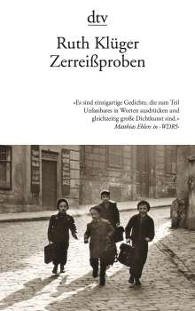 Ruth Klüger: Zerreißproben, Buch