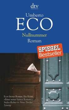 Umberto Eco (1932-2016): Nullnummer, Buch