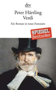 Peter Härtling: Verdi, Buch