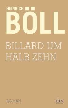 Heinrich Böll: Billard um halb zehn, Buch