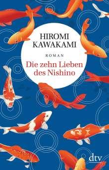 Hiromi Kawakami: Die zehn Lieben des Nishino, Buch