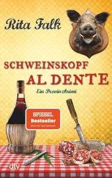 Rita Falk: Schweinskopf al dente, Buch