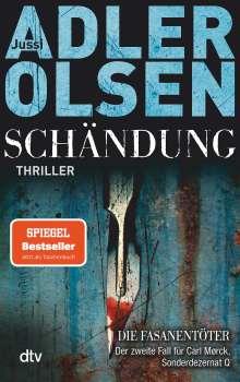 Jussi Adler-Olsen: Schändung, Buch