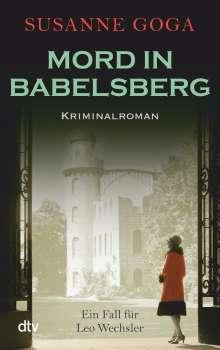 Susanne Goga: Mord in Babelsberg, Buch