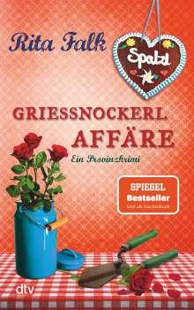 Rita Falk: Grießnockerlaffäre, Buch