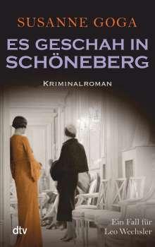 Susanne Goga: Es geschah in Schöneberg, Buch