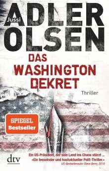Jussi Adler-Olsen: Das Washington-Dekret, Buch