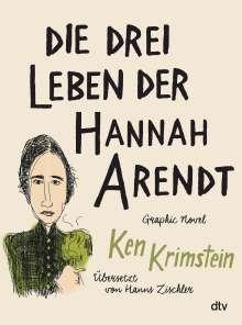 Ken Krimstein: Die drei Leben der Hannah Arendt, Buch