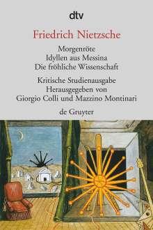 Friedrich Nietzsche: Morgenröte / Idyllen aus Messina / Die fröhliche Wissenschaft, Buch