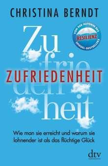 Christina Berndt: Zufriedenheit, Buch