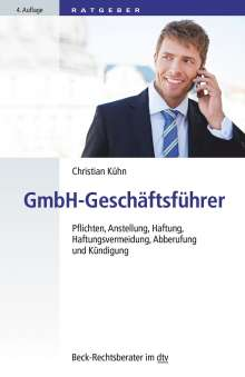 Christian Kühn: GmbH-Geschäftsführer, Buch