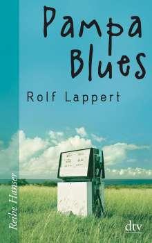 Rolf Lappert: Pampa Blues, Buch