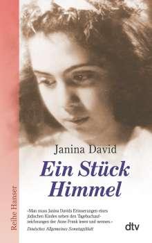 Janina David: Ein Stück Himmel, Buch