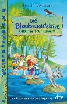 Pertti Kivinen: Die Blaubeerdetektive (1), Gefahr für den Inselwald!, Buch