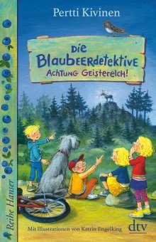 Pertti Kivinen: Die Blaubeerdetektive (2), Achtung Geisterelch!, Buch