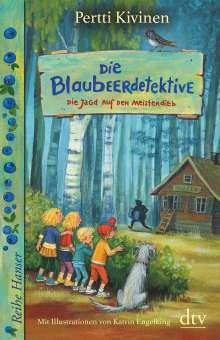 Pertti Kivinen: Die Blaubeerdetektive (3), Die Jagd auf den Meisterdieb!, Buch