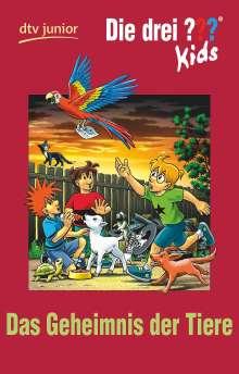 Ulf Blanck: Die drei ??? Kids 53 - Geheimnis der Tiere (drei Fragezeichen), Buch