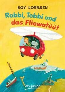 Boy Lornsen: Robbi, Tobbi und das Fliewatüüt, Buch