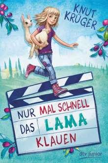Knut Krüger: Nur mal schnell das Lama klauen, Buch