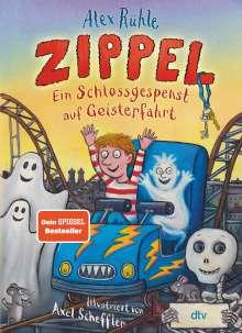 Alex Rühle: Zippel - Ein Schlossgespenst auf Geisterfahrt, Buch