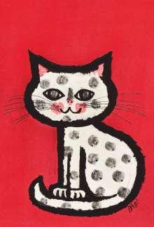 Celestino Piatti: Piatti Postkarte Katze VE 1=10, Diverse