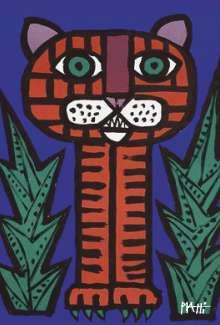 Celestino Piatti: Piatti Postkarte Tiger VE 1=10, Diverse