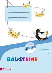 BAUSTEINE Sprachbuch 4. Übungsheft mit Lernsoftware- Ausgabe 2014, Buch