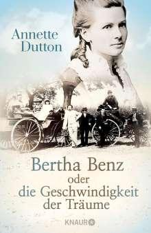 Annette Dutton: Bertha Benz oder die Geschwindigkeit der Träume, Buch