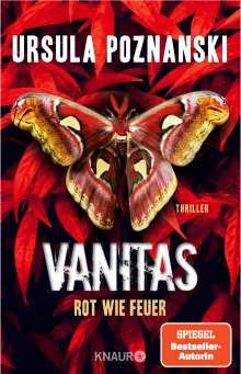 Ursula Poznanski: VANITAS - Rot wie Feuer, Buch