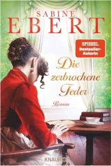Sabine Ebert: Die zerbrochene Feder, Buch