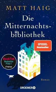 Matt Haig: Die Mitternachtsbibliothek, Buch
