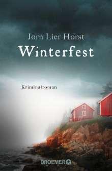 Jørn Lier Horst: Winterfest, Buch
