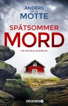 Anders De La Motte: Spätsommermord, Buch
