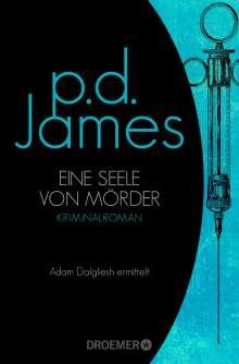 P. D. James: Eine Seele von Mörder, Buch