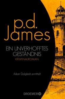 P. D. James: Ein unverhofftes Geständnis, Buch