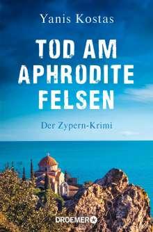 Yanis Kostas: Tod am Aphroditefelsen, Buch
