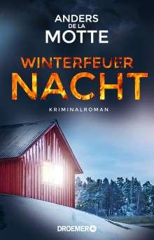 Anders De La Motte: Winterfeuernacht, Buch