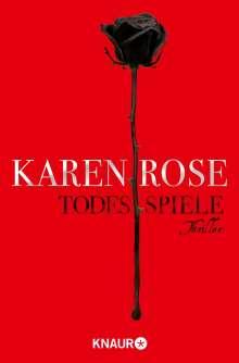 Karen Rose: Todesspiele, Buch