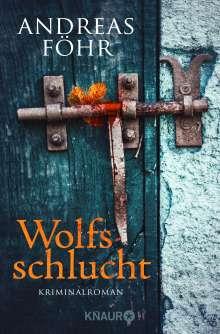 Andreas Föhr: Wolfsschlucht, Buch