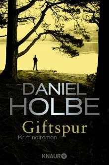 Daniel Holbe: Giftspur, Buch
